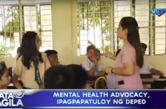 Mental Health Advocacy, ipagpapatuloy ng DepEd