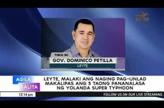 Big improvement in Leyte economy noted, five years after supertyphoon Yolanda