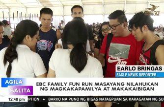 EBC Family Fun Run masayang nilahukan ng magkakapamilya at makakaibigan