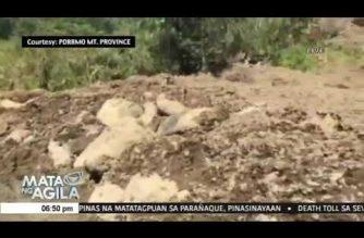 Search operation sa 12- kataong nawawala sa nangyaring landslide sa Natonin, Mt. Province, nagpapatuloy