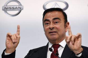 (FILES) In this file photo taken on May 13, 2015, Nissan Motors Chairman and CEO Carlos Ghosn speaks during the company's financial results press conference in Yokohama. - Former Nissan boss Carlos Ghosn will spend Christmas behind bars after a Tokyo court on December 23, 2018 extended his detention through to January 1, 2019. (Photo by Toshifumi KITAMURA / AFP)