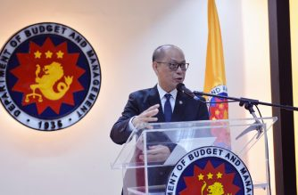 Budget Secretary Benjamin Diokno.  (Photo courtesy Department of Budget and Management)