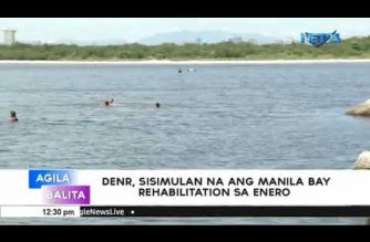 DENR to start Manila Bay rehab in January 2019