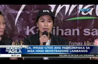 Sacked FDA director-general Puno: I leave FDA with a clear conscience