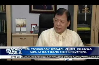 NEU Technology Research Center, inilunsad para sa iba't ibang technology innovations