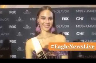 """Watch:  Miss Universe 2018 Catriona Gray says """"I am one with 25"""""""