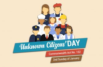 INFOGRAPHICS: Unknown Citizens' Day (2nd Sunday of January)