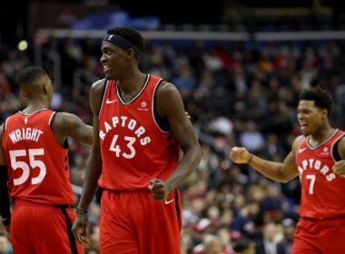 aab507cfd Siakam bounces in winner as Raptors edge Suns