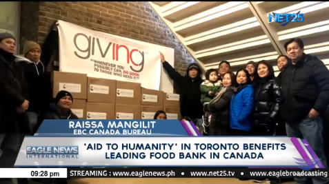'Aid to Humanity' in Toronto benefits leading food bank in Canada