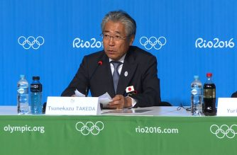 (File photo) The head of Japan's Olympic Committee denies involvement in a suspect payment made before Tokyo was awarded the 2020 Games, while apologizing for any possible impact on the hosting of the event.  (Courtesy Agence France Presse)