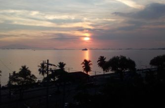 A view of Manila Bay.  (Eagle News Service)