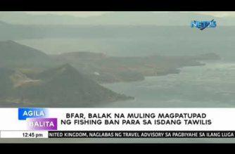 BFAR, muling magpapatupad ng fishing ban para sa isdang tawilis