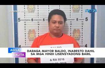 Daraga, Albay Mayor Carlwyn Baldo arrested in Albay