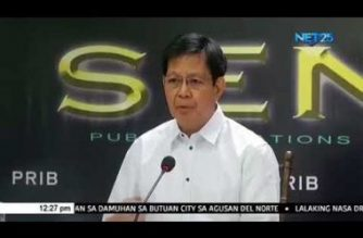 "Lacson on inclusion of Hidilyn Diaz, Gretchen Ho in newly-released ""oust Duterte plot"" matrix:  It's either the product of excellent intel work or of Bikoy's ""infiltration"" of NSA"