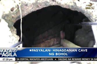 #Pasyalan: Hinagdanan Cave ng Bohol