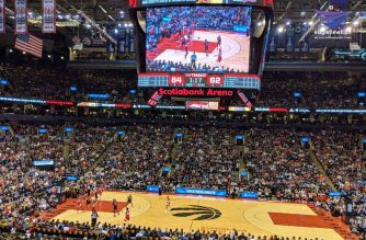 The Toronto Raptors close out 2018 with a win against the Bulls in Toronto, Ontario on Sunday, Dec. 30, 2018. Photo by Jeremiah Balingit, EBC Toronto Bureau, Eagle News Service.