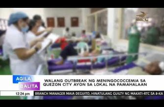 QC: No meningococcemia outbreak in Novaliches