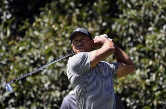 US golfer Tiger Woods is pictured during a practice round at Chapultepec's Golf Club in Mexico City on February 20, 2019 ahead of the World Golf Championships that runs from February 21 to 24 in the Mexican capital. (Photo by ALFREDO ESTRELLA / AFP)