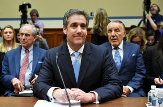 Michael Cohen, US President Donald Trump's former personal attorney, testifies before the House Oversight and Reform Committee in the Rayburn House Office Building on Capitol Hill in Washington, DC on February 27, 2019. (Photo by MANDEL NGAN / AFP)