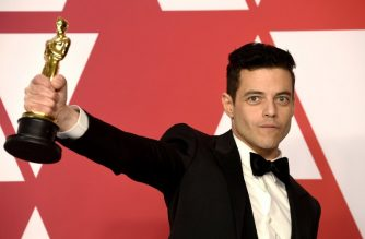 HOLLYWOOD, CALIFORNIA - FEBRUARY 24: Rami Malek, winner of Best Actor for 'Bohemian Rhapsody,' attends the 91st Annual Academy Awards press room at Hollywood and Highland on February 24, 2019 in Hollywood, California.   Frazer Harrison/Getty Images/AFP