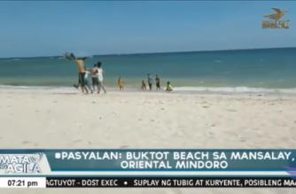#Pasyalan: Buktot Beach sa Mansalay, Oriental Mindoro