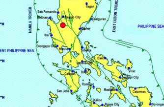 A 5.5-magnitude quake hit Villasis, Pangasinan on Wednesday, Feb. 6, the Philippine Institute of Volcanology and Seismology said./PHIVOLCS Facebook account/
