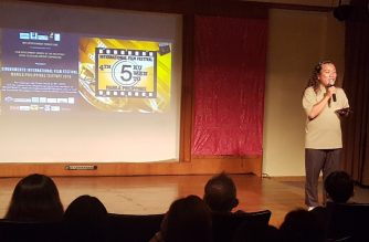"Premiere of EBC Films' ""Guerrero"" at the 4th Singkuwento International Film Festival."