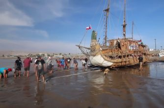 Ahoy! Reed raft to set sail across the Pacific