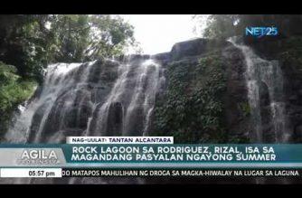 Blue lagoon sa Rodriguez, Rizal, isa sa magandang pasyalan ngayong summer
