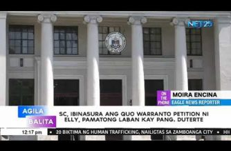 SC junks Pamatong petition that seeks to oust Duterte as President