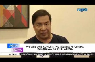 """We Are One Concert"" ng Iglesia Ni Cristo, isinagawa sa Philippine Arena"