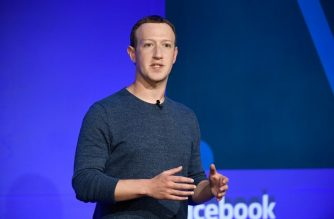 (FILES) In this file photo taken on May 23, 2018,  Facebook CEO Mark Zuckerberg speaks during a press conference in Paris. - Jeff Bezos remains the world's richest person, ahead of Bill Gates and Warren Buffett, according to the latest Forbes list of the ultra wealthy. But while things are largely stable up top in that ranking, Facebook founder Mark Zuckerberg dropped three spots and former New York mayor Michael Bloomberg rose by two. According to the list announced March 4, 2019 by Forbes, the riches of Bezos, 55, have swelled by $19 billion in one year and he is now worth $131 billion. (Photo by BERTRAND GUAY / AFP)