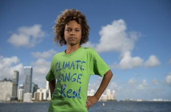"This undated handout photo released by Our Children's Trust shows Levi Draheim, 11, from Indian Harbour Beach, Florida, just south of Cape Canaveral. - Draheim is a kid who lives on the barrier island separating the coast of Florida from the Atlantic Ocean. He is also a plaintiff in a lawsuit against the US government over climate change. ""I don't even know if the Earth is going to be around when I'm older at the rate that we're going,"" Levi told AFP in a phone interview before his swim class in Indian Harbour Beach. ""I really hope when I'm older, if I have kids, that they'll be able to see where I lived, where I played,"" he says. ""But I don't know if I'm even going to be alive or if we're going to be maybe living on Mars?"" Levi is the youngest of 21 plaintiffs in legal action launched in 2015 by two associations, Our Children's Trust and Earth Guardians, against the US government -- a case now stalled in the courts for years. (Photo by Robin Loznak / Our Children's Trust / AFP) / RESTRICTED TO EDITORIAL USE - MANDATORY CREDIT ""AFP PHOTO / Our Children's Trust / Robin Loznak"" - NO MARKETING NO ADVERTISING CAMPAIGNS - DISTRIBUTED AS A SERVICE TO CLIENTS TO GO WITH AFP STORY, ""The Atlantic Ocean is rising and 11-year-old Levi is worried"" /"