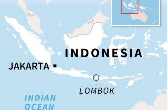 At least two dead and dozens injured after Indonesia quake