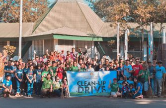 "INC volunteers unite to clean up city's ""Nature Park"""
