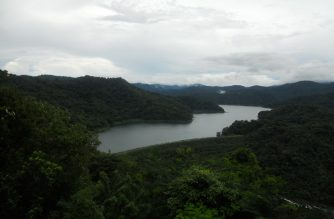 View of Angat Dam in Bulacan.  (Courtesy wikimedia commons/Wikipedia.org)