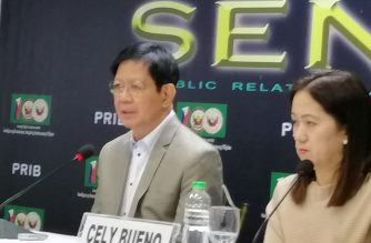 Senator Panfilo Lacson on Thursday, March 28, questioned the timing of and the motive for dismissed Colonel Eduardo Acierto's supposed exposé on Michael Yang's alleged drug links./Meanne Corvera/Eagle News/