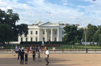 File photo of the White House in Washington D.C. Eagle News Service.