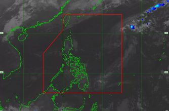 """Betty"" has weakened into a low pressure area and no longer poses a direct threat to any part of the country, PAGASA said./PAGASA/"