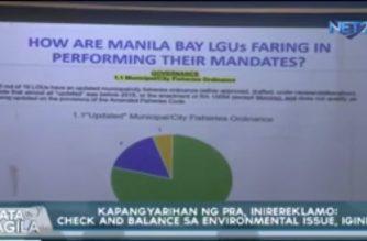 Reclamation project sa Manila Bay, pinangangambahang makaapekto sa mga mangingisda ng Cavite