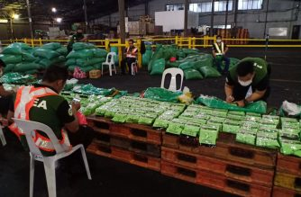 The Bureau of Customs on Friday, March 22, intercepted P1.8 billion worth of shabu. The shipment had come from Vietnam and had been declared by the consignee as plastic resin.