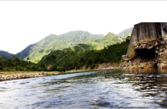 The site of the Kaliwa Dam project to be funded by an Official Developmnet Assistance from China.  (Photo courtesy Metropolitan Waterworks and Sewerage System)