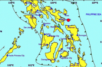 A 3.5-magnitude quake struck Sorsogon early Friday, March 1, the Philippine Institute of Volcanology and Seismology said./PHIVOLCS/
