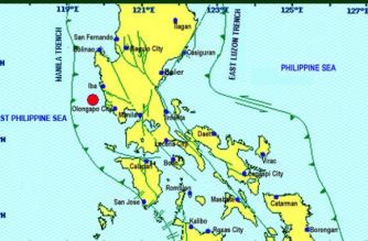 A 3.8-magnitude quake struck Zambales on Thursday, March 14.
