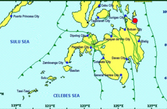 A 4.6-magnitude quake struck Surigao del Sur on Friday, March 15./PHIVOLCS/