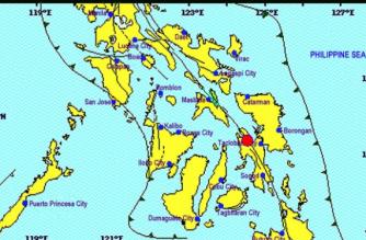A 2.5-magnitude quake struck Leyte on Sunday, March 17.
