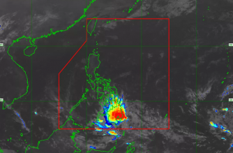 """Chedeng"" to make landfall over Davao Occidental today, March 19"