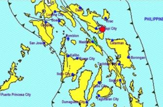 A 4.0-magnitude earthquake struck Sorsogon on Tuesday, March 19./PHIVOLCS/