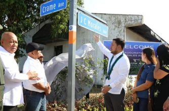 The DPWH has inaugurated a new road inside Camp Aguinaldo that was named after the first fallen soldier in Marawi./DPWH/
