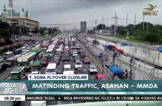Heavy traffic to start with closure of Tandang Sora flyover at 11 p.m. March 2